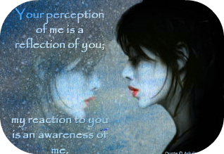 reflection Its Not About Him, Its About You